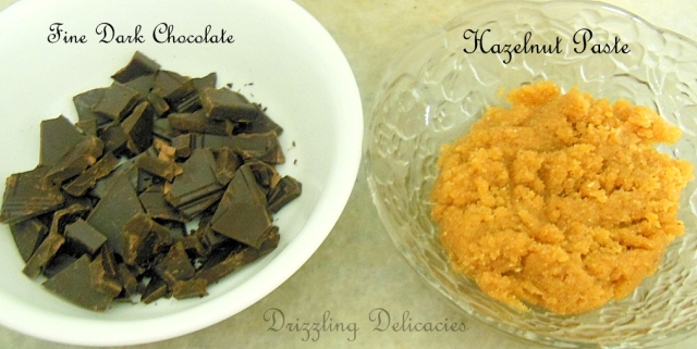 chocolate hazelnut frosting ingredients