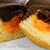 Ganache Filling Eggless Duet Muffins