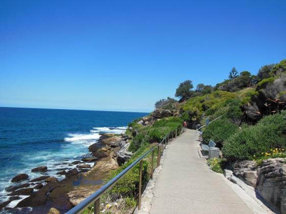 My coastal walk from Bondi to Bronte beach. Simply amazing!