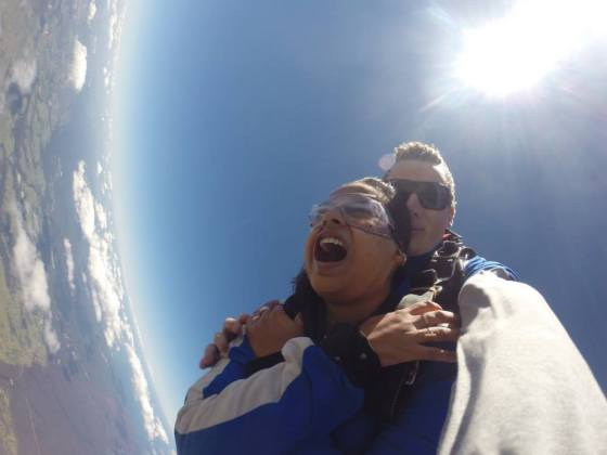 One of the most exciting things I did in Sydney! Jumping from 14000ft. Still want to go for it again! ;)