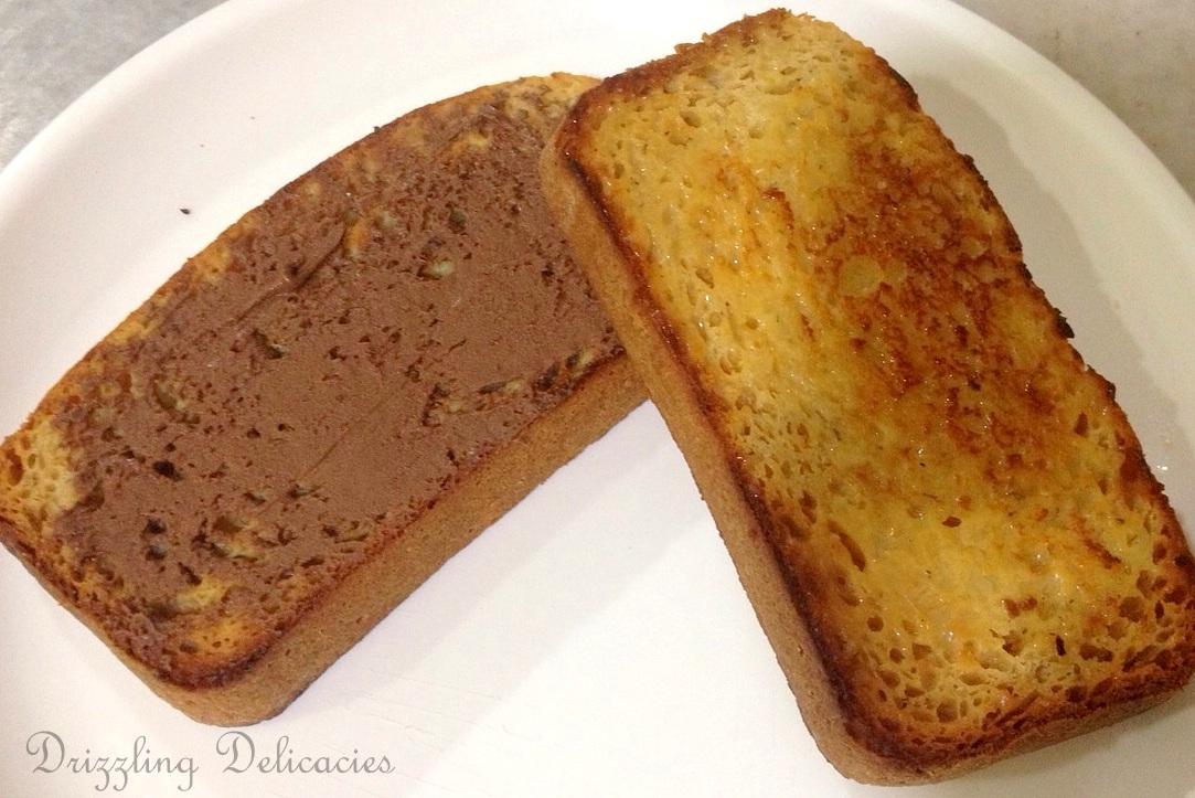 toasted banana bread