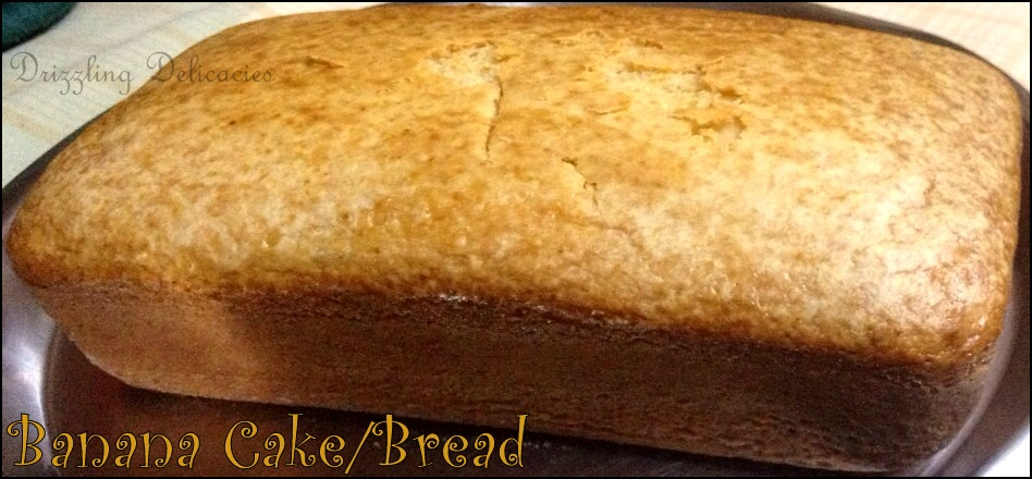 Banana Cake/Bread (1/4)