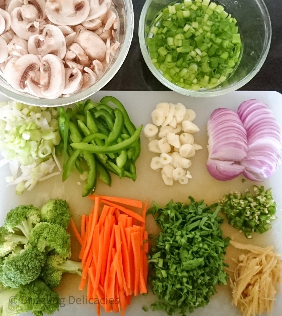 veg stir fry noodles ingredients