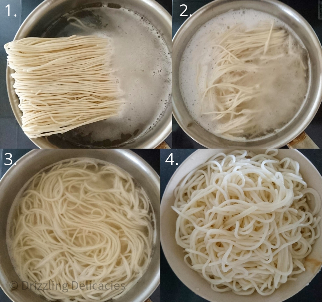 how to boil noodles