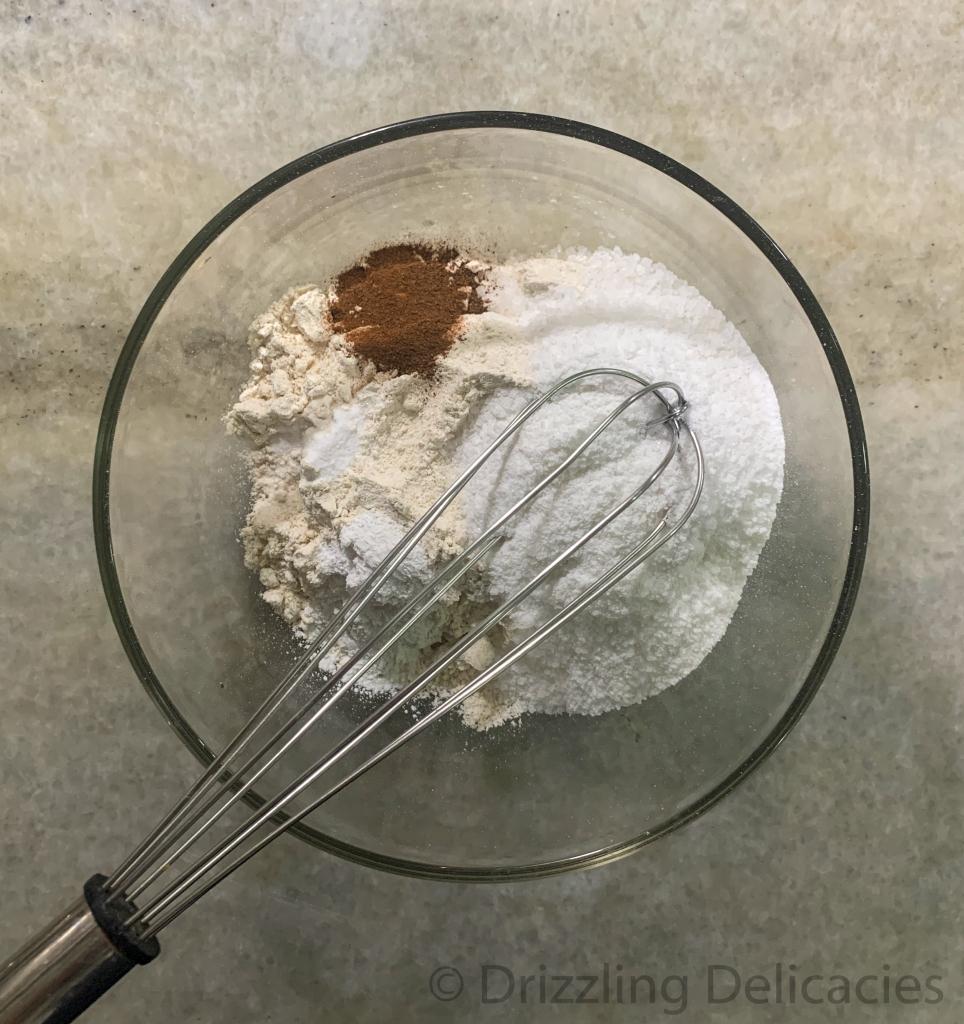 cinnamon dry cake mix eggless