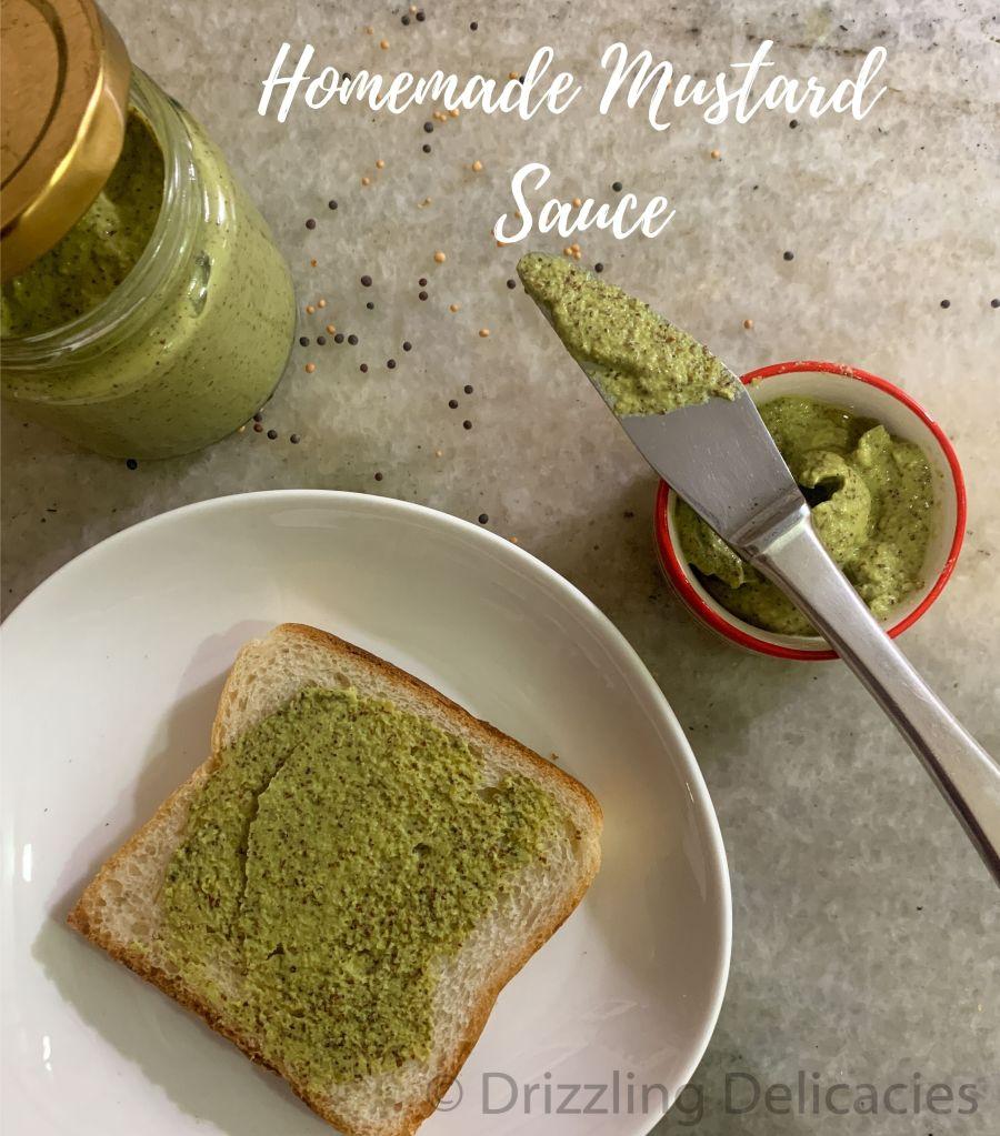 mustard sauce at home