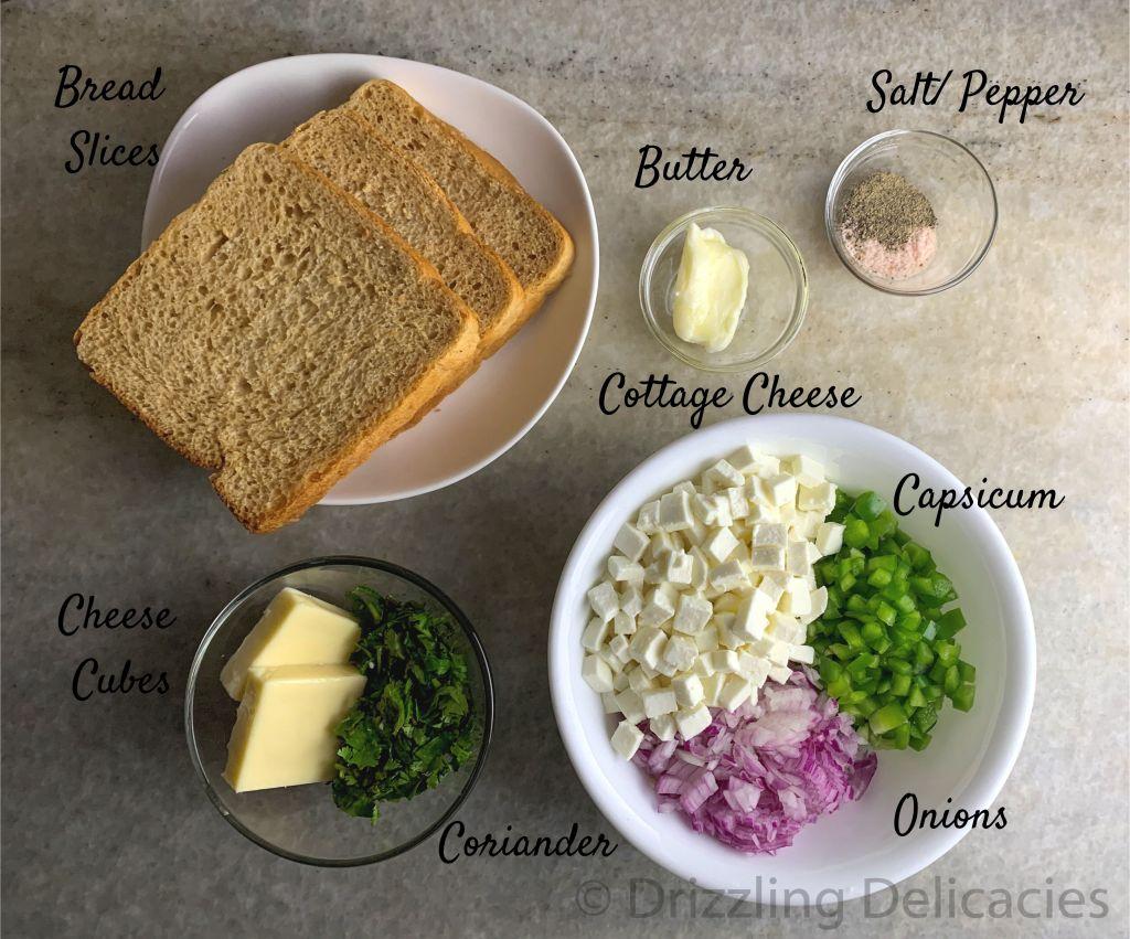 tea time sandwich ingredients