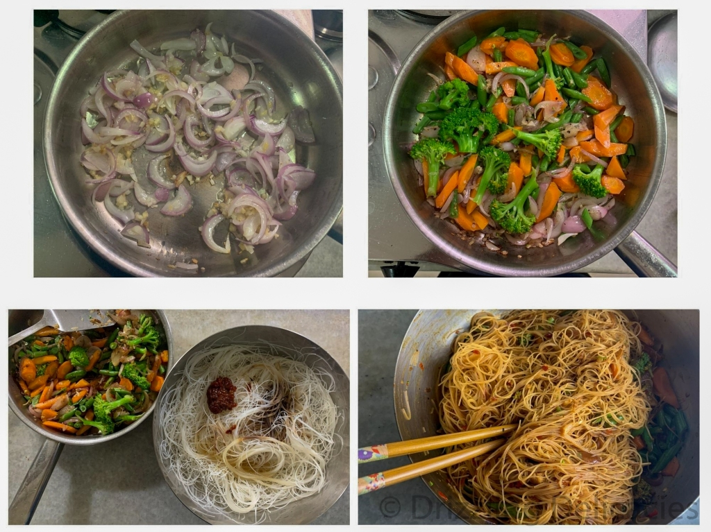 how to make rice vermicelli in fermented chili bean sauce
