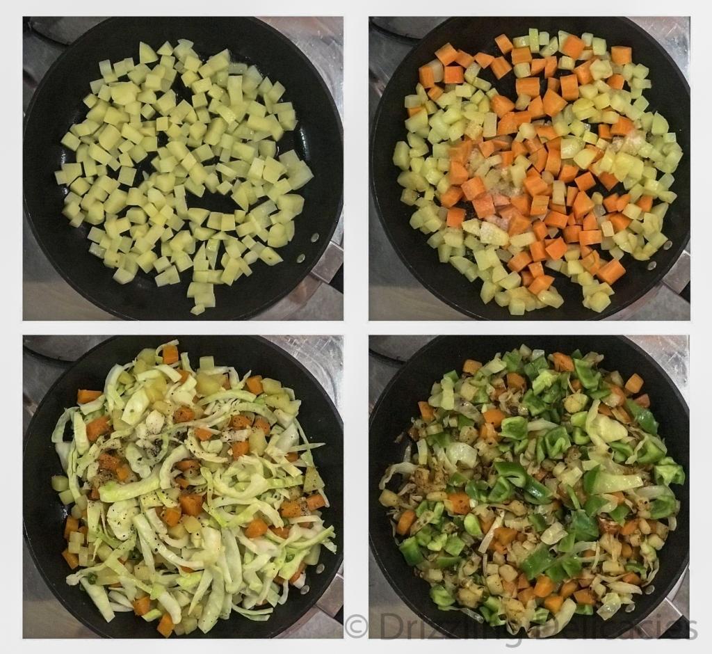 mixed vegetable method